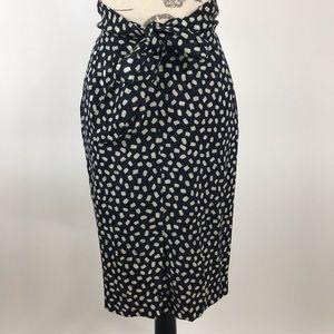 Anne Klein - 100% Silk Midi Skirt